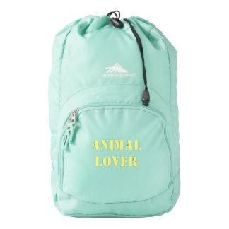 animal lover bookbag backpack
