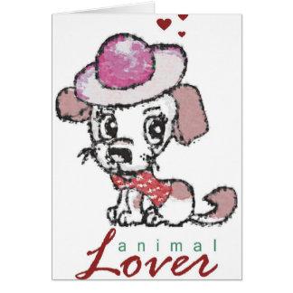 Animal Lover Card