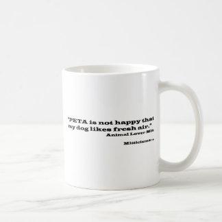 Animal Lover Mitt Basic White Mug