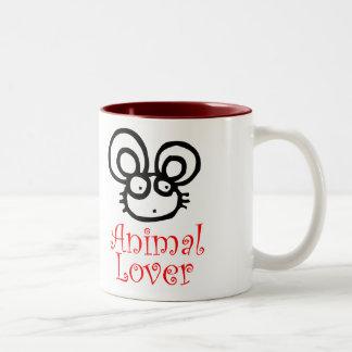 Animal Lover Two-Tone Mug