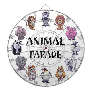 Animal Parade Groups Dartboard