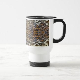 Animal Print Abstract Stainless Steel Travel Mug