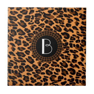 Animal Print Leopard Pattern Tile