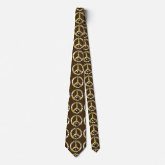 Animal Print Peace sign I + your backgr. & ideas Tie