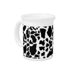 Animal print pitcher