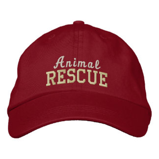 Animal Rescue embroidered hat