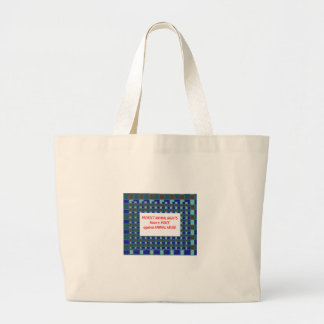 Animal Rights-Healty Living Habitat in Wild being Canvas Bag