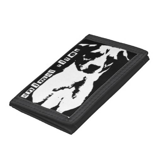 """animal rites"" tri-fold wallets"