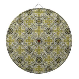 Animal skin seamless pattern dartboard