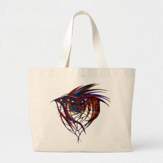 Animal Spirit Large Tote Bag