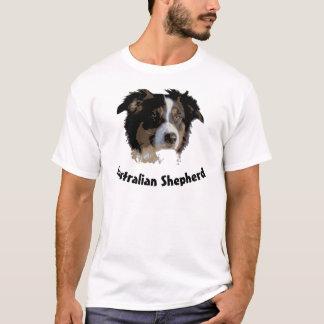 animal t-shirt dog australian shepherd aussie hund