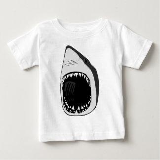 animal t-shirt white shark weisser hai scuba