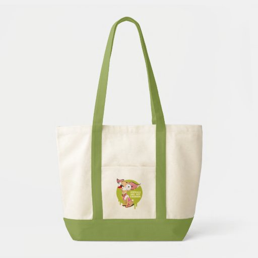 Animals are not Fashion! Tote Bag