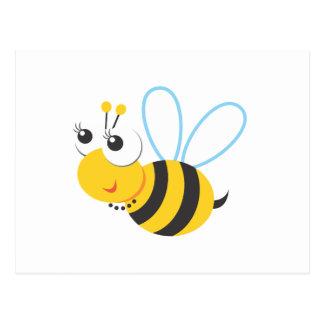 Animals - Bee Postcard