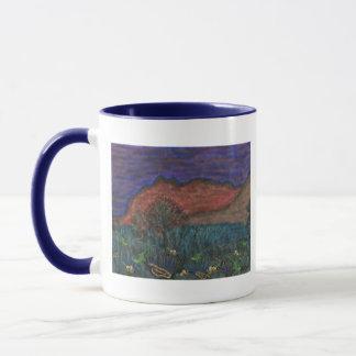 Animals in the desert Mug