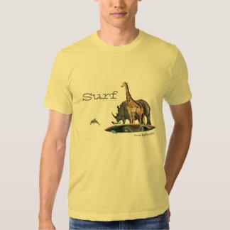 Animals Surfing Shirts