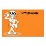 Animated Halloween Skeleton 14 Cm X 21.5 Cm Flyer