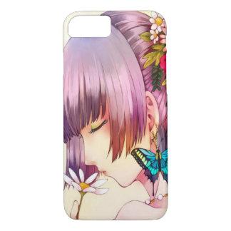Anime Butterfly Maiden Girl Custom iPhone 7 Case