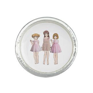 Anime girls ring