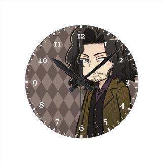 Anime Sirius Black Round Clock