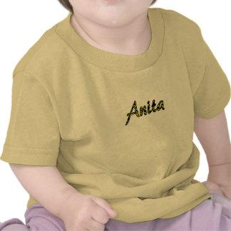 Anita short sleeve t-shirt in yellow