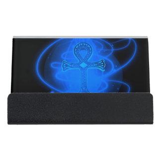Ankh Desk Business Card Holder