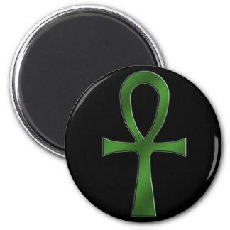 Ankh Green Magnet