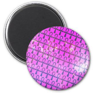 Ankh Pattern Magnet