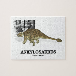 Ankylosaurus (Fused Lizard Dinosaur) Jigsaw Puzzle