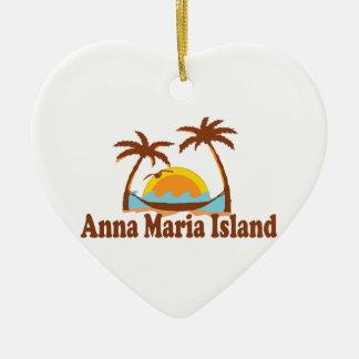 Anna Maria Island. Christmas Ornament