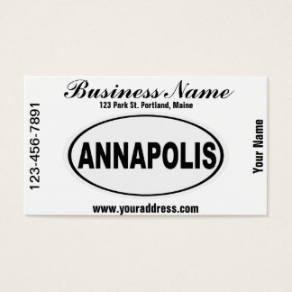 Annapolis Maryland Business Card