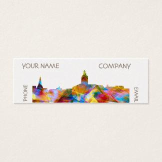 ANNAPOLIS MARYLAND SKYLINE VIBRANCE - MINI BUSINESS CARD