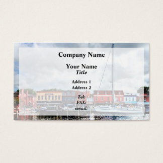 Annapolis Md - City Dock Business Card