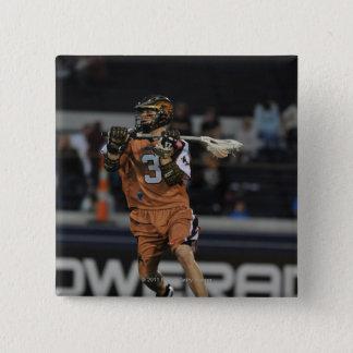 ANNAPOLIS, MD - MAY 14:  Brett Garber #3 3 15 Cm Square Badge