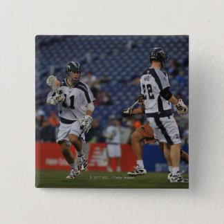 ANNAPOLIS, MD - MAY 14:  Kyle Dixon #11 3 15 Cm Square Badge