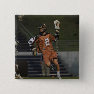 ANNAPOLIS, MD - MAY 14:  Ned Crotty #2 3 15 Cm Square Badge