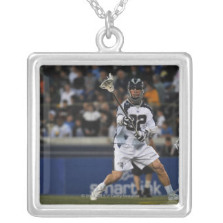 ANNAPOLIS, MD - MAY 14:  Shawn Nadelen #32 3 Silver Plated Necklace