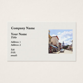 Annapolis MD Shops On Maryland Avenue Business Card
