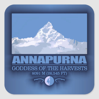 Annapurna Square Sticker