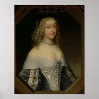Anne de Gonzaga  Princess Palatine Poster