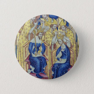 Anne of Bohemia Queen of England Button
