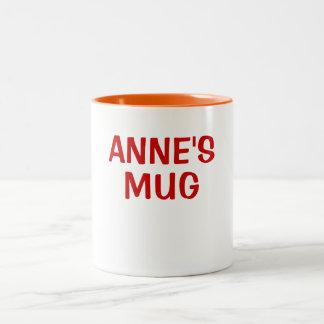 ANNE'S MUG