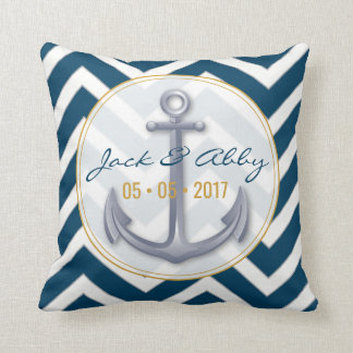Anniversary Anchor Pillow