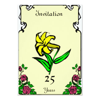 Anniversary - daffoldil - Customizable Card