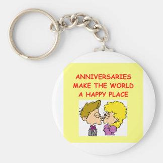 anniversary keychains