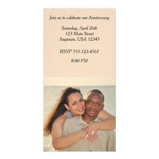 Anniversary Photo Card Invitation