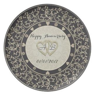Anniversary Plate