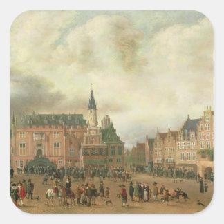 Announcement of the Peace of Breda Sticker
