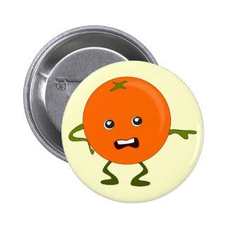 Annoyed Orange: Bad Fruit Gang 6 Cm Round Badge