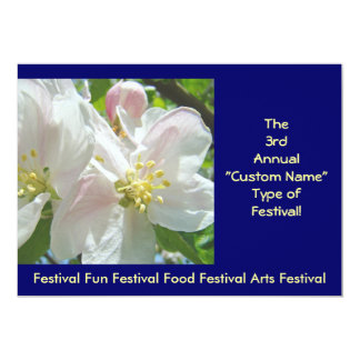 "Annual Festival Event Invitations Annoucements 5"" X 7"" Invitation Card"
